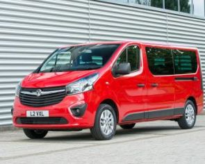 Opel Vivaro Long 9-Miestné  1.6 CDTi BiTurbo 2016