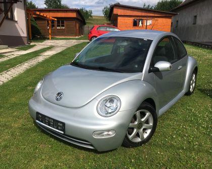 Volkswagen Beetle 1.9TDI ART 2006 Cúvacie senzory Sezónne prezutie