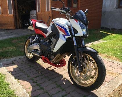 Honda CB 650F SP Edition 500 ABS 2015 Termignoni
