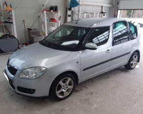 Škoda Roomster 1.6 16V DSG Sport Sezónne prezutie ŤAŽNÉ