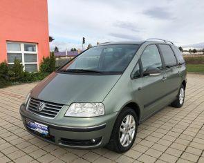Volkswagen Sharan 1.9TDI Automat TRENDLINE Detské sedačky