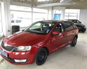Škoda Rapid 1.4TSI DSG 2014 AMBITION Panoráma + sezónne prezutie