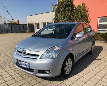 Toyota Corolla Verso 1.8VVT-i Automat • SOL•  1.majiteľ → 7-miest → sezónne prezutie