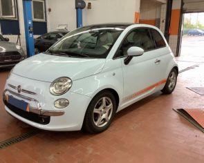 Fiat 500 1.2 Automat •LOUNGE•  Panoráma → sezónne prezutie