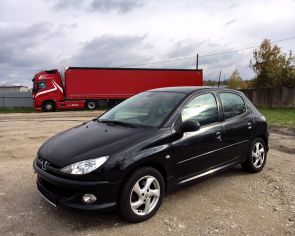 Peugeot 206 1.6 16V Automat Sport Line