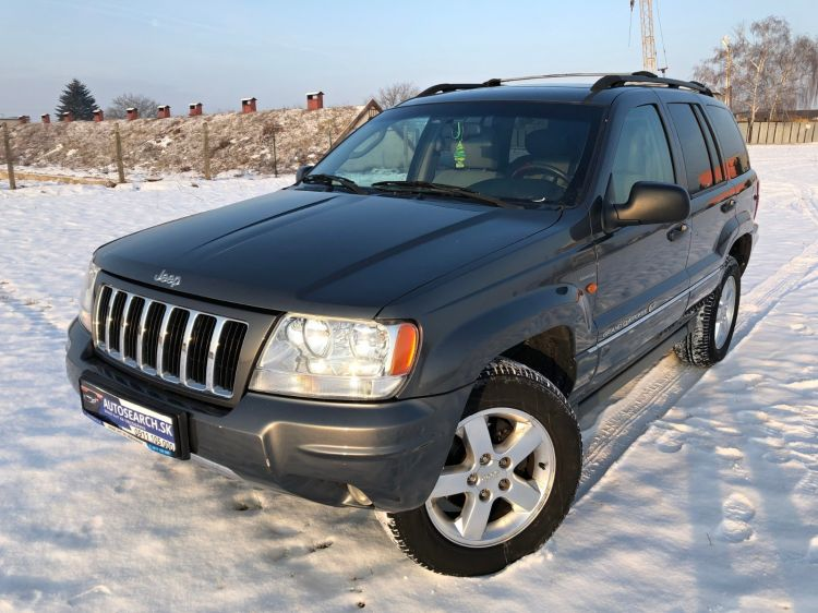Jeep Grand Cherokee 2.7CRD Automat OVERLAND 2004 NAVIGÁCIA