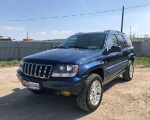 Jeep Grand Cherokee 2.7CRD Automat LIMITED 4x4 2003
